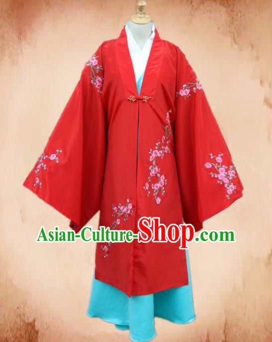 Traditional Chinese Ming Dynasty Young Mistress Hanfu Dress Ancient Dowager Costume for Women