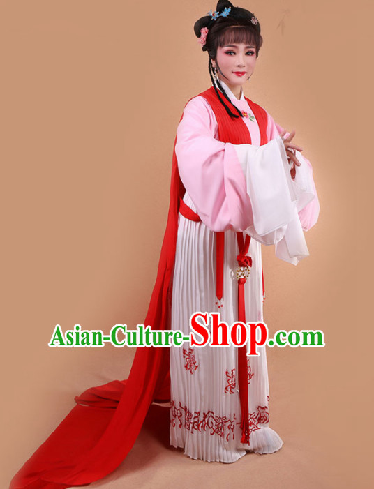 Chinese Traditional Peking Opera Diva Dress Ancient Nobility Lady Embroidered Costume for Women