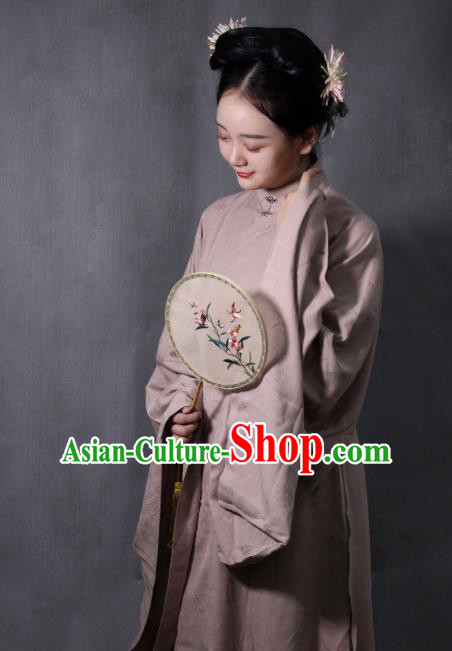 Chinese Traditional Ming Dynasty Dowager Hanfu Dress Ancient Court Countess Replica Costumes for Women