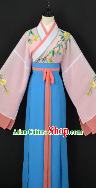 Traditional Chinese Peking Opera Diva Dress Ancient Aristocratic Miss Costume for Women