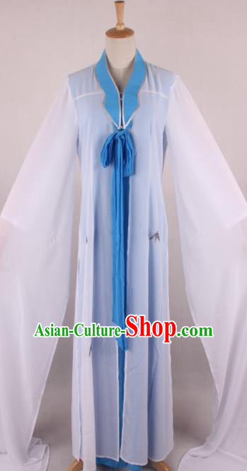 Traditional Chinese Shaoxing Opera Gifted Scholar Clothing Ancient Childe Costume and Hat for Men