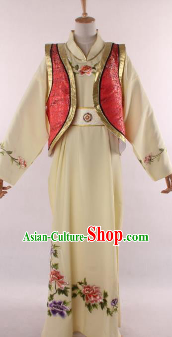 Chinese Shaoxing Opera Niche Gifted Scholar Robe Traditional Ancient Childe Jia Baoyu Costume for Men