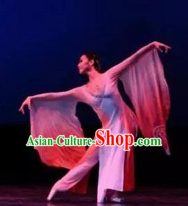 Traditional Chinese Classical Dance Liang Zhu Costume Butterfly Lovers Stage Show Beautiful Dance Dress for Women