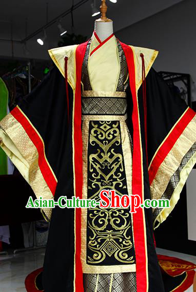Chinese Ancient Drama Queen Mother Costumes Traditional Qin Dynasty Empress Dowager Dress for Women