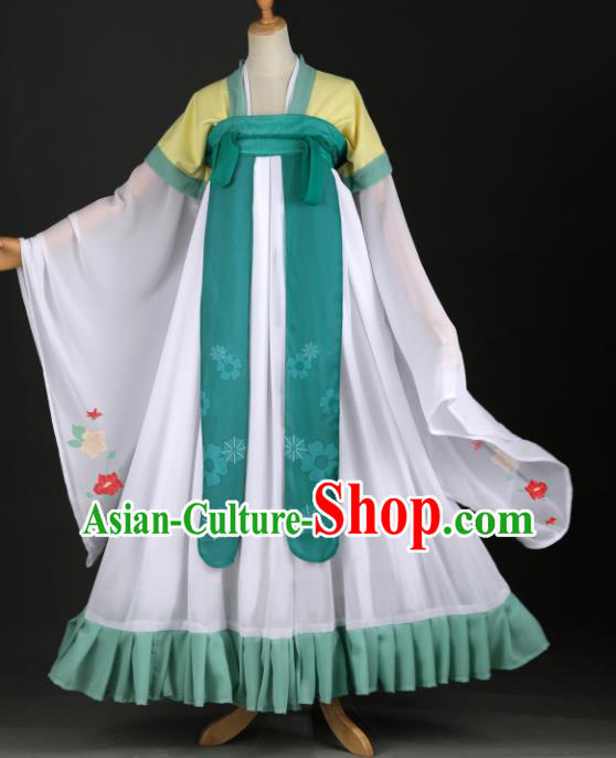 Chinese Ancient Cosplay Fairy Court Lady Dress Traditional Hanfu Princess Costume for Women
