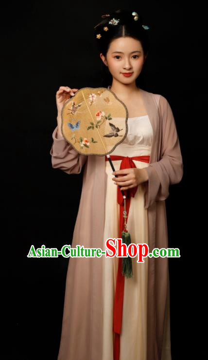 Traditional Chinese Song Dynasty Geisha Hanfu Dress Ancient Drama Aristocratic Lady Replica Costumes for Women